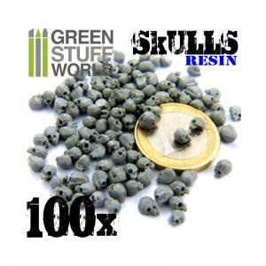 100 Resin Skulls