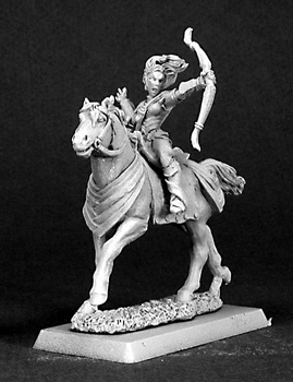 14375 Volendria, Mounted Female Archer