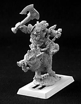 14451 Durthen, Dwarven Berserker on Boar, Dwarves