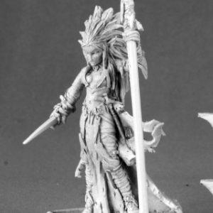 14590 Liela Mordollwen, Dark Elf Sorceress