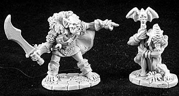 2876 Goblin Leader & Shaman
