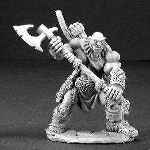 3197 Thelgar Halfblood, Half Orc Barbarian