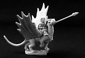 3264 Roderic Ambermead & Glitter - Halfling on Dragon