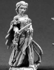 3329 Hannah Blackruby, Female Wizard