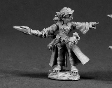 3340 Cassie, Female Gnome Wizard