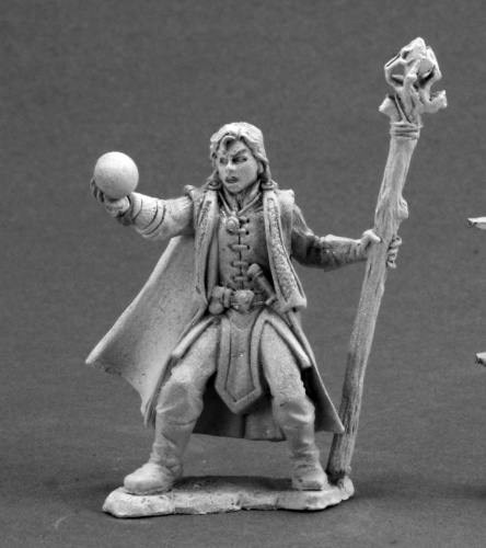 3599 Drake Whiteraven, Young Mage