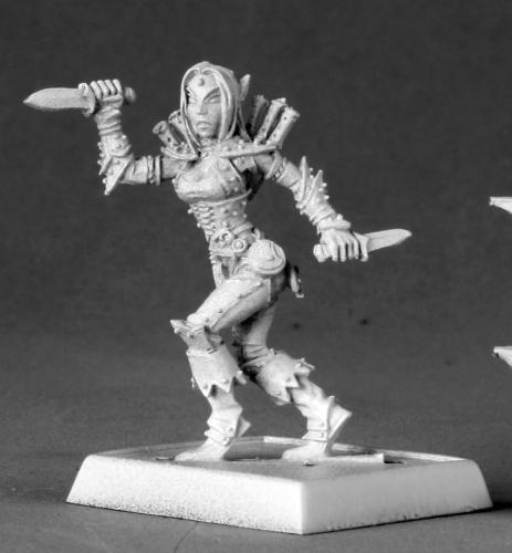 60013 Merisiel, Iconic Female Elf Rogue
