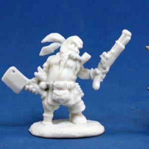 77133 Gruff Grimecleaver, Dwarf Pirate
