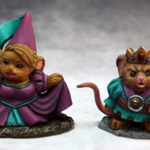 77286 Mousling King & Princess