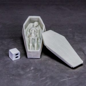 77633 Coffin and Corpse