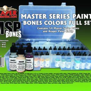 9966: Reaper Bones Ultra Coverage Paint Set ( 9401 to 9454 )