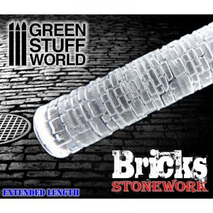 Bricks Textured Rolling Pin