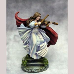 DSM1194 Female Bard with Violin