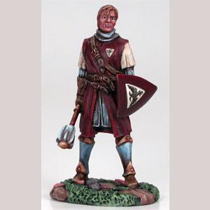 DSM7207 Male Cleric with Mace and Shield