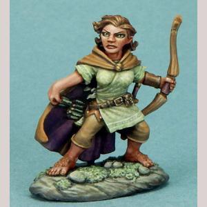 DSM7310 Female Halfling Ranger with Bow