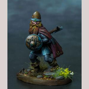 DSM7314 Dwarf Warrior with Axe