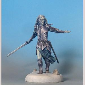 DSM7325 Male Elven Warrior with Longsword