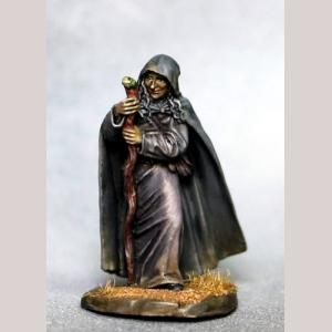 DSM7333 Female Witch / Old Crone with Staff