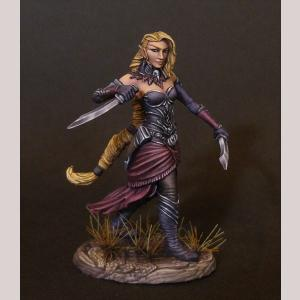 DSM7487 Female Elven Rogue