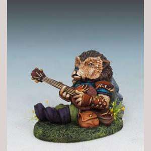 DSM8039 Hedgehog Bard with Lute