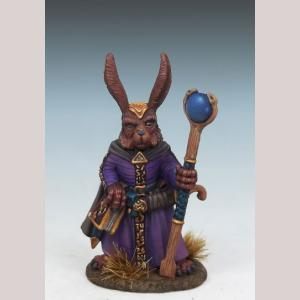 DSM8061 Rabbit Mage with Staff