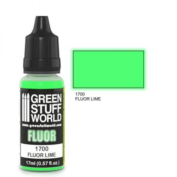 GSW 1700 : Lime Flourescent Paint