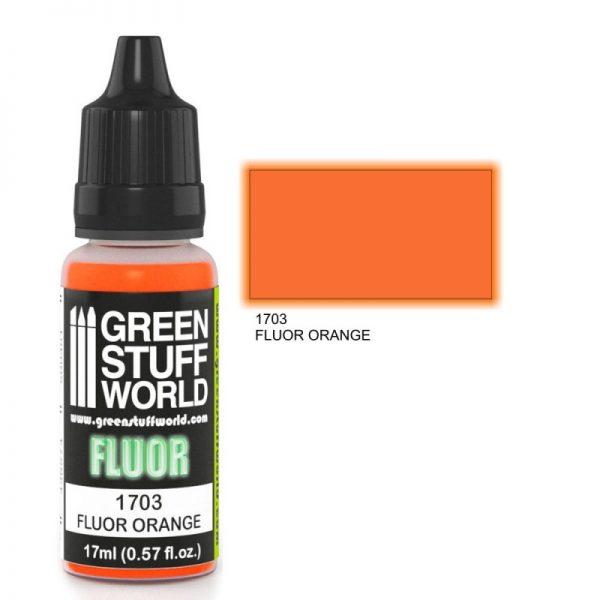 GSW 1703 : Orange Flourescent Paint