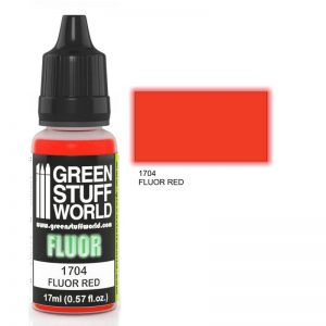 GSW 1704 : Red Flourescent Paint