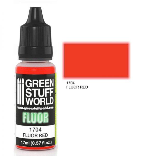 GSW 1704 : Red Flourescent Paint