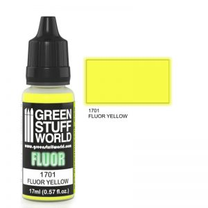 GSW 1701 : Yellow Flourescent Paint