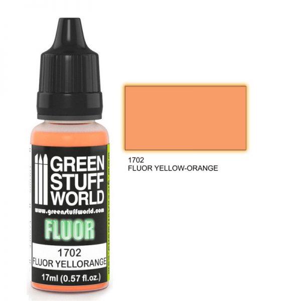 GSW 1702 : Orange / Yellow Flourescent Paint