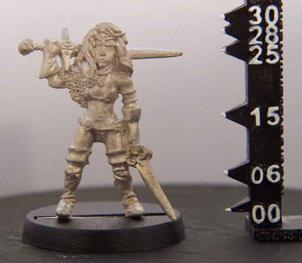 Sasha - Female Barbarian mmo000002