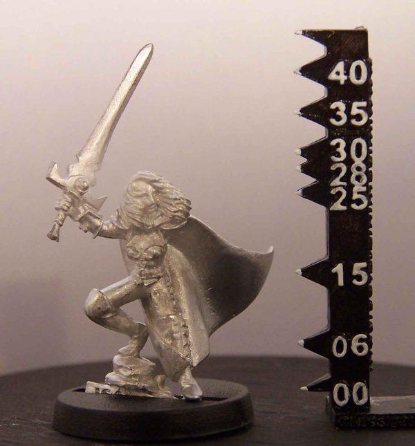 Mannequin Miniatures Jeanette - Female Fighter / Ranger mmo000003