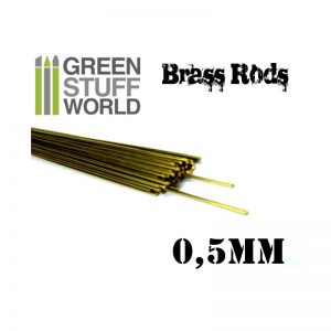 0.5mm Brass Rod Pack