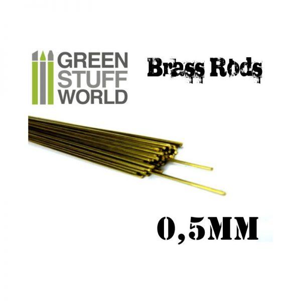 0.5mm Brass Rod Pack
