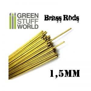 1.5mm Brass Pinning Rod