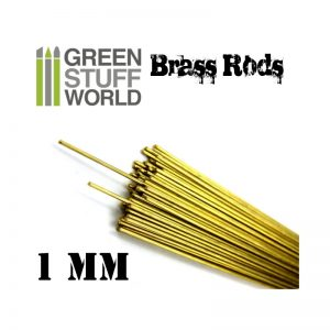 1.0mm Brass Pinning Rod