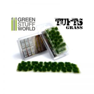 6mm Dark Green Grass Tufts