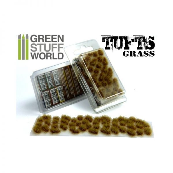 6mm Dry Brown Grass Tufts