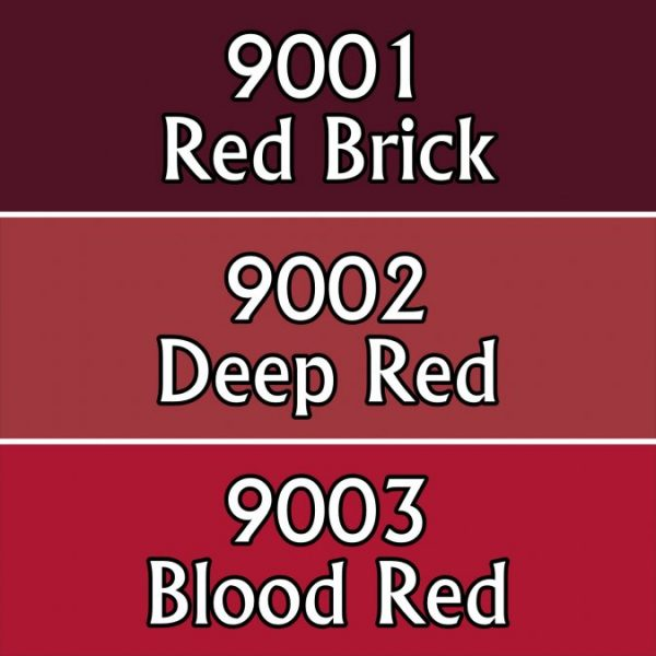 9701 : Reaper Paint Triad - Blood Colors