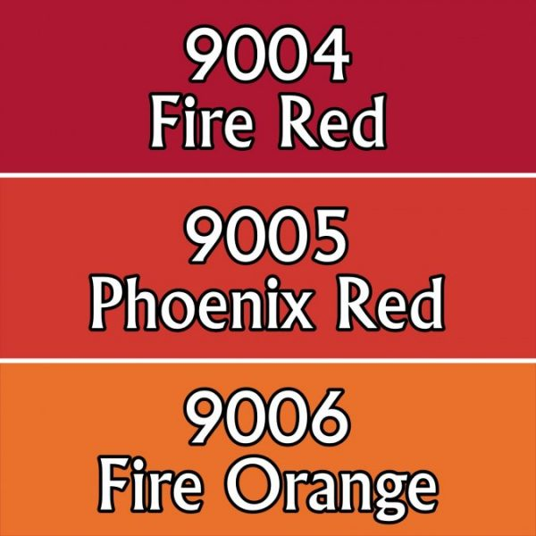 9702 : Reaper Paint Triad - Fire Colors