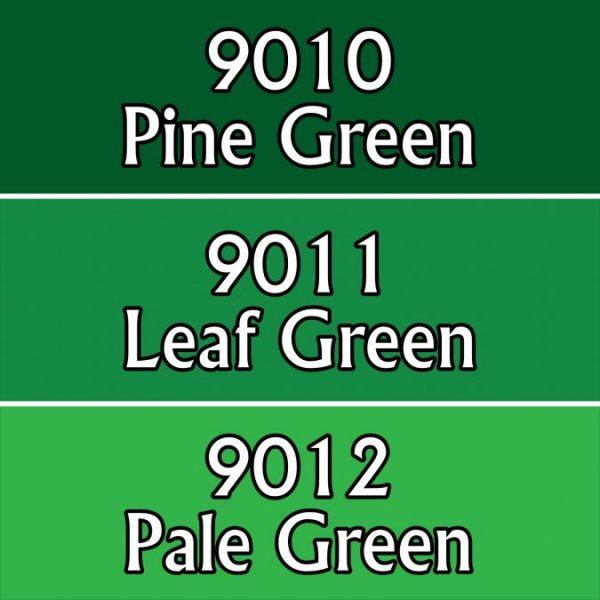 9704 : Reaper Paint Triad - Warm Greens