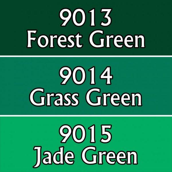 9705 : Reaper Paint Triad - Cool Greens