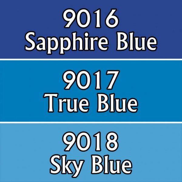 9705 : Reaper Paint Triad - Pure Blues