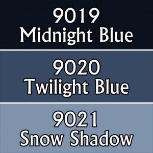 9707 : Reaper Paint Triad - Grey Blues