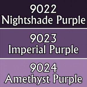 9708 : Reaper Paint Triad - Royal Purples