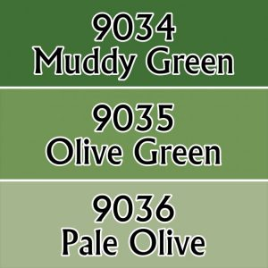 9712 : Olive Greens