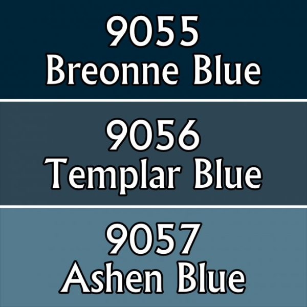 9719 : Reaper Paint Triad - Martial Blues