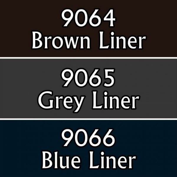 9722 : Reaper Paint Triad - Liners