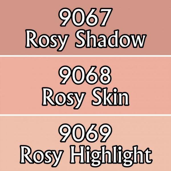 9723 : Reaper Paint Triad - Rosy Skintones